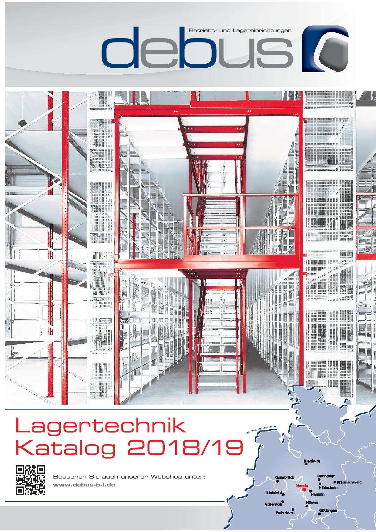 DEBUS Lagertechnik 2018/2019